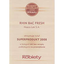 Superprodukt 2008 RHIN BAC FRESH